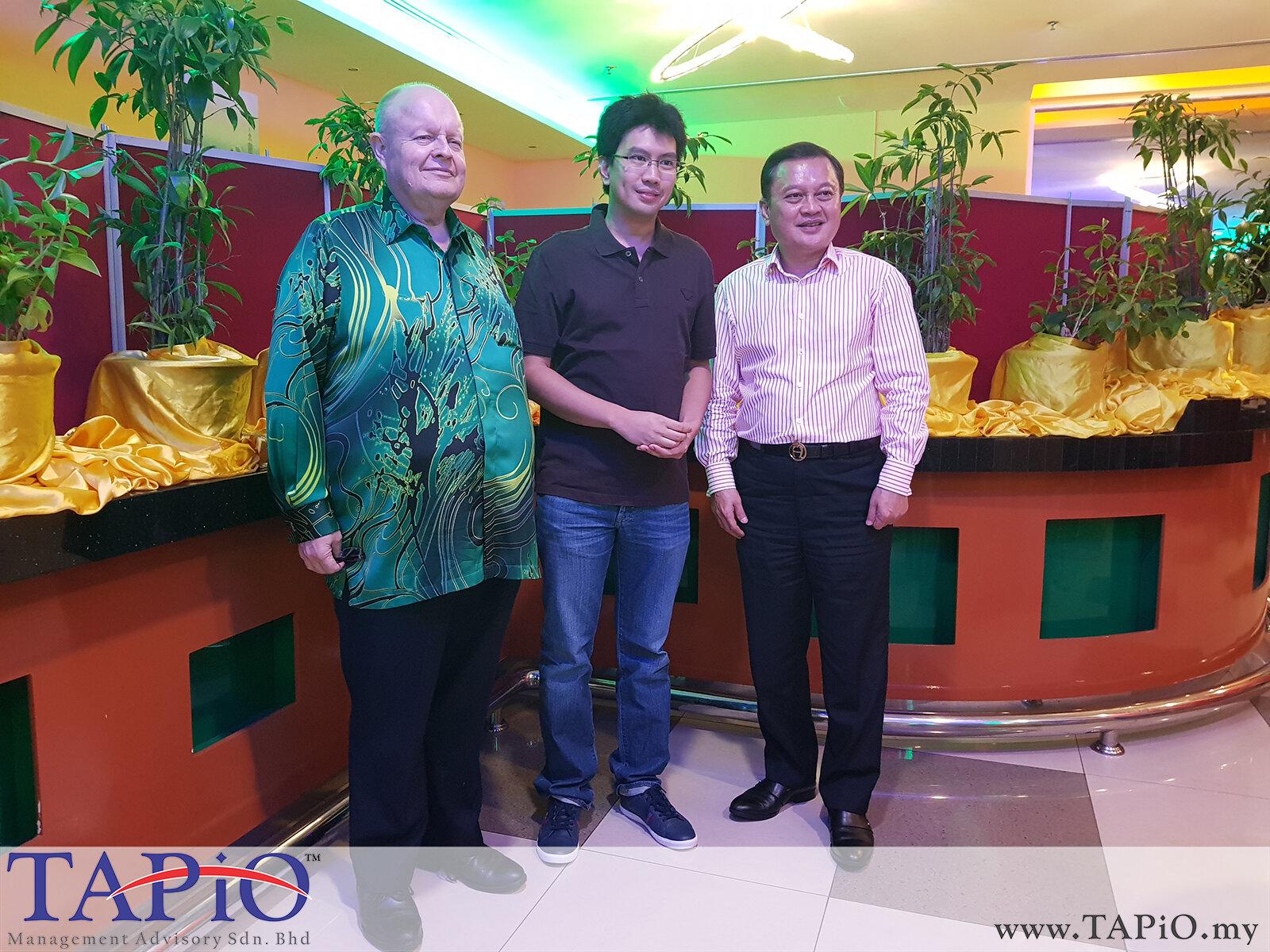 20200209 - Dinner with Tunku Zain