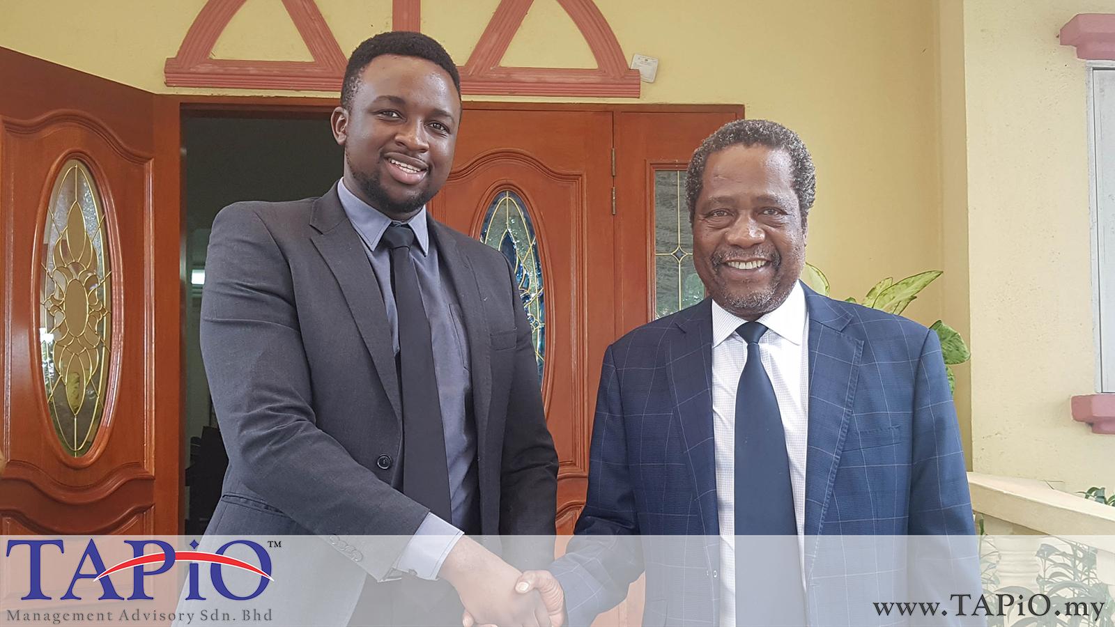 20190828 - Farewell for Ambassador of Zimbabwe