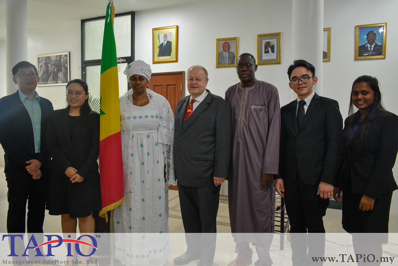 20190816 - Meeting with Ambassador of Senegal