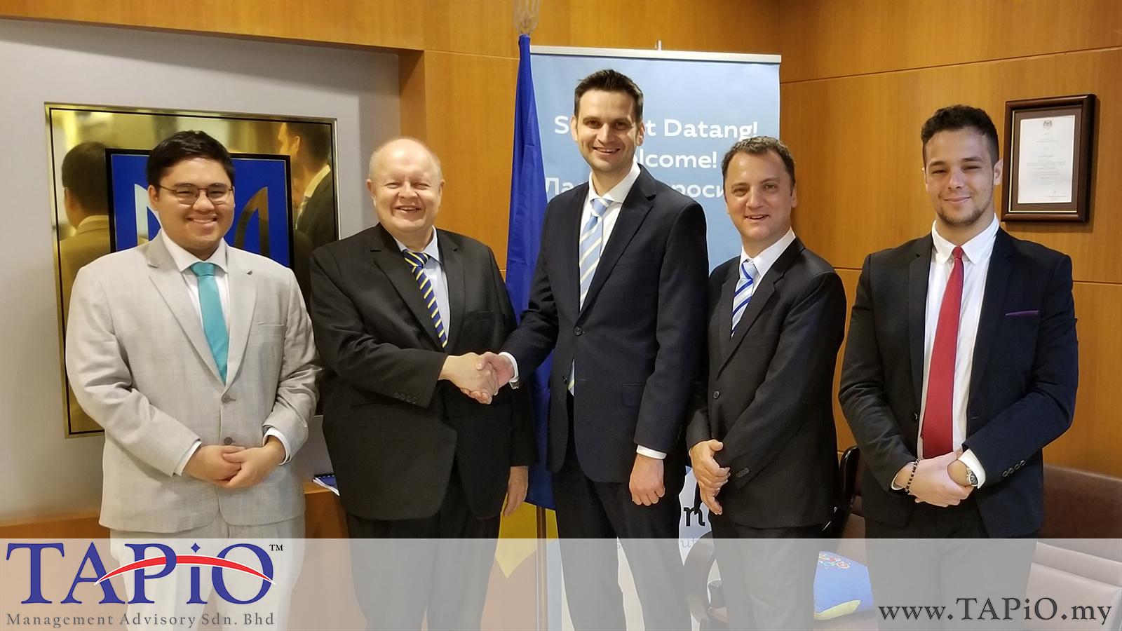 20190418 - Meeting With Ambassador of Ukraine to Malaysia
