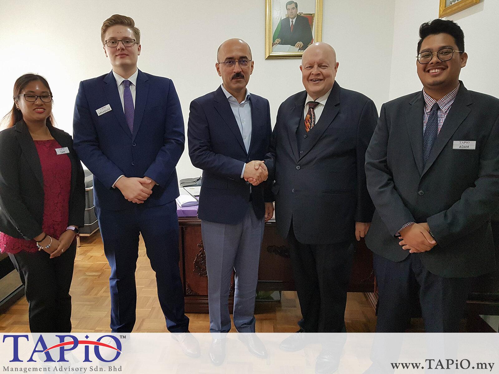 20200121 - Meeting with the Embassy of Tajikistan