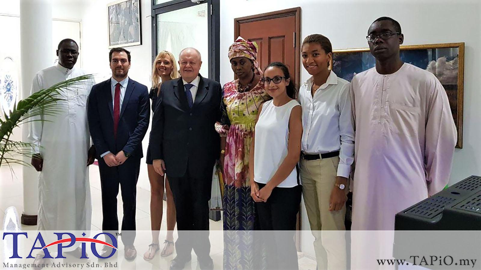 20190517 - Meeting With Ambassador of Senegal