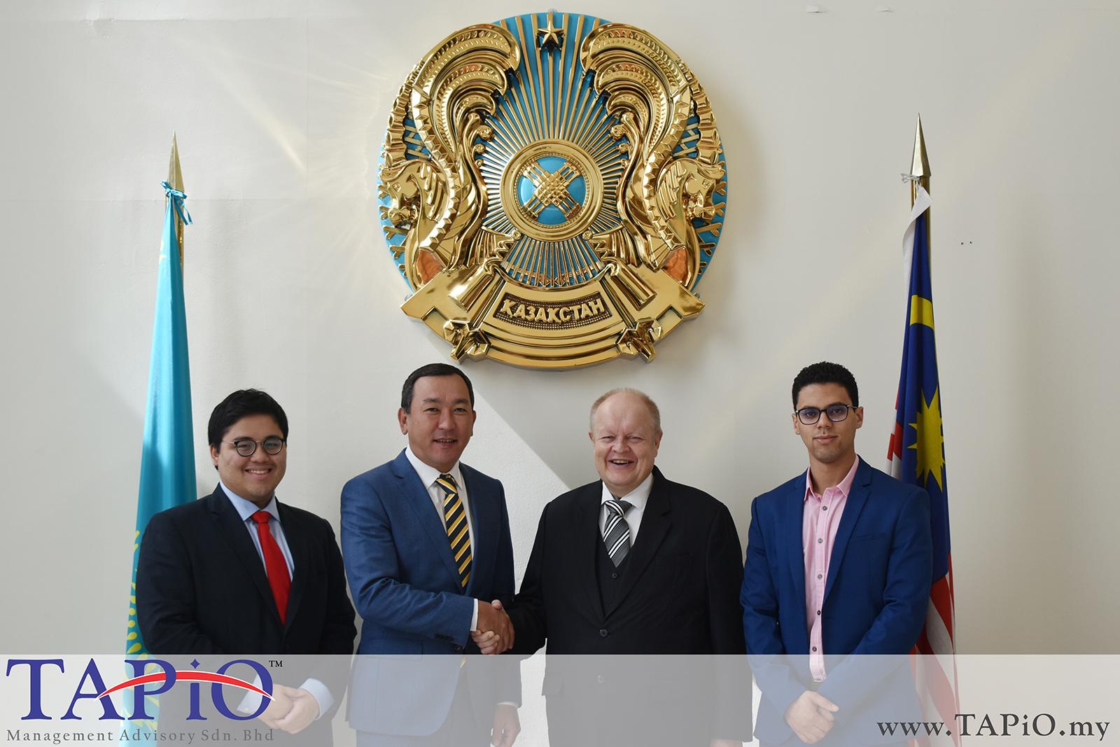Meeting with the Ambassador of Kazakhstan - 14/03/2019
