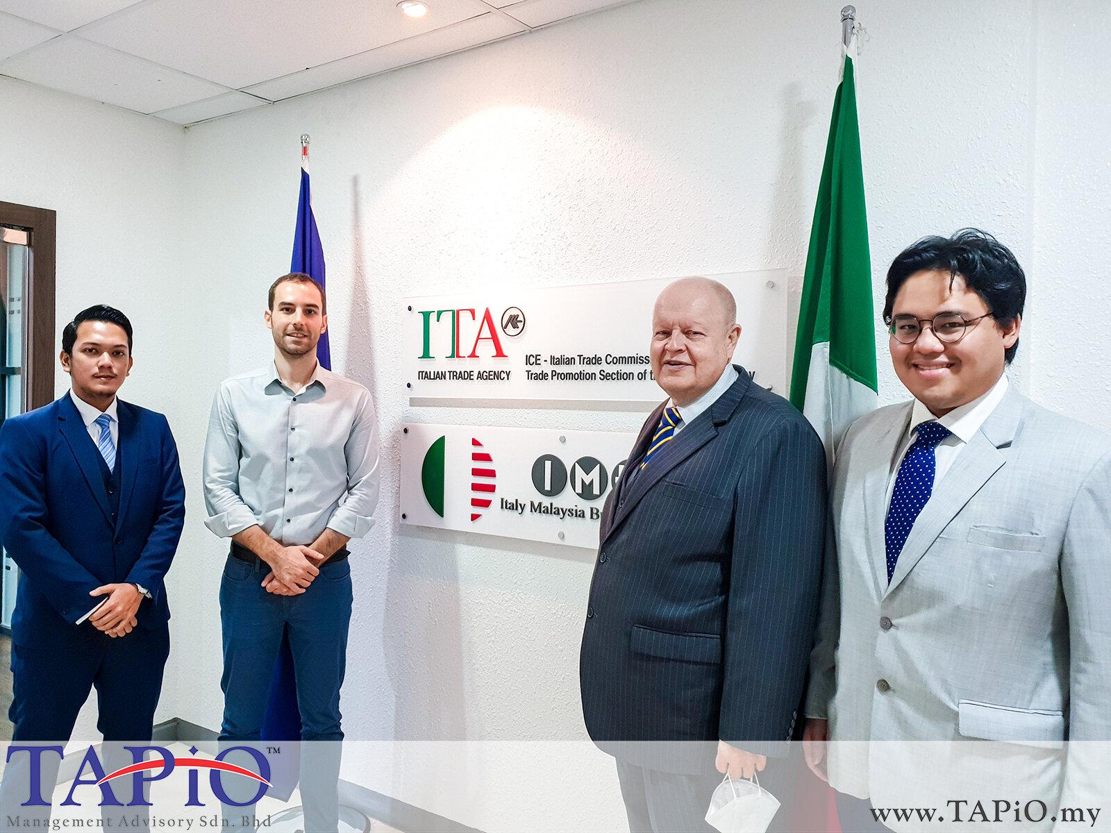 Meeting with IMBA Mr. Enrico