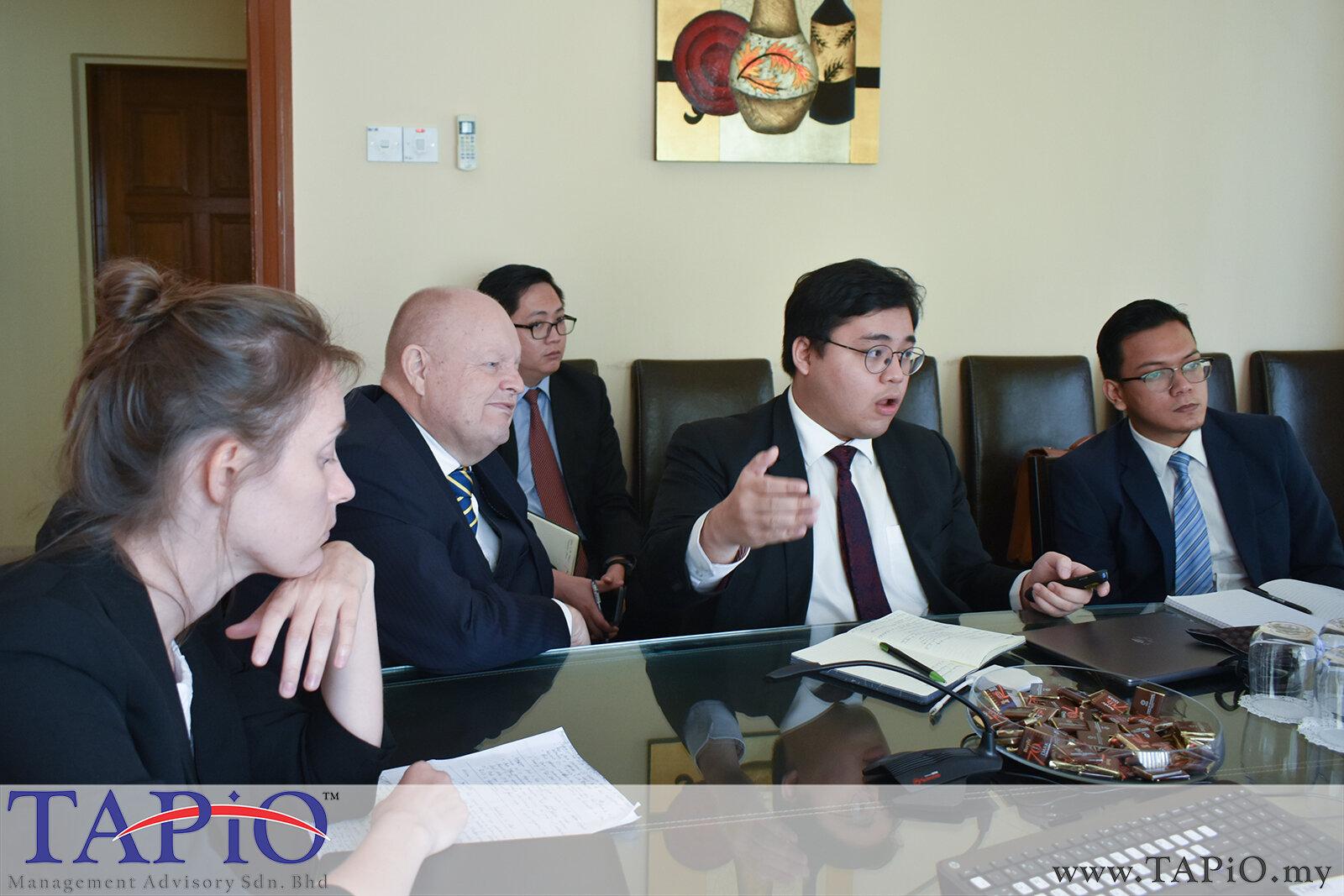 Meeting with Nikita Ponomarenko