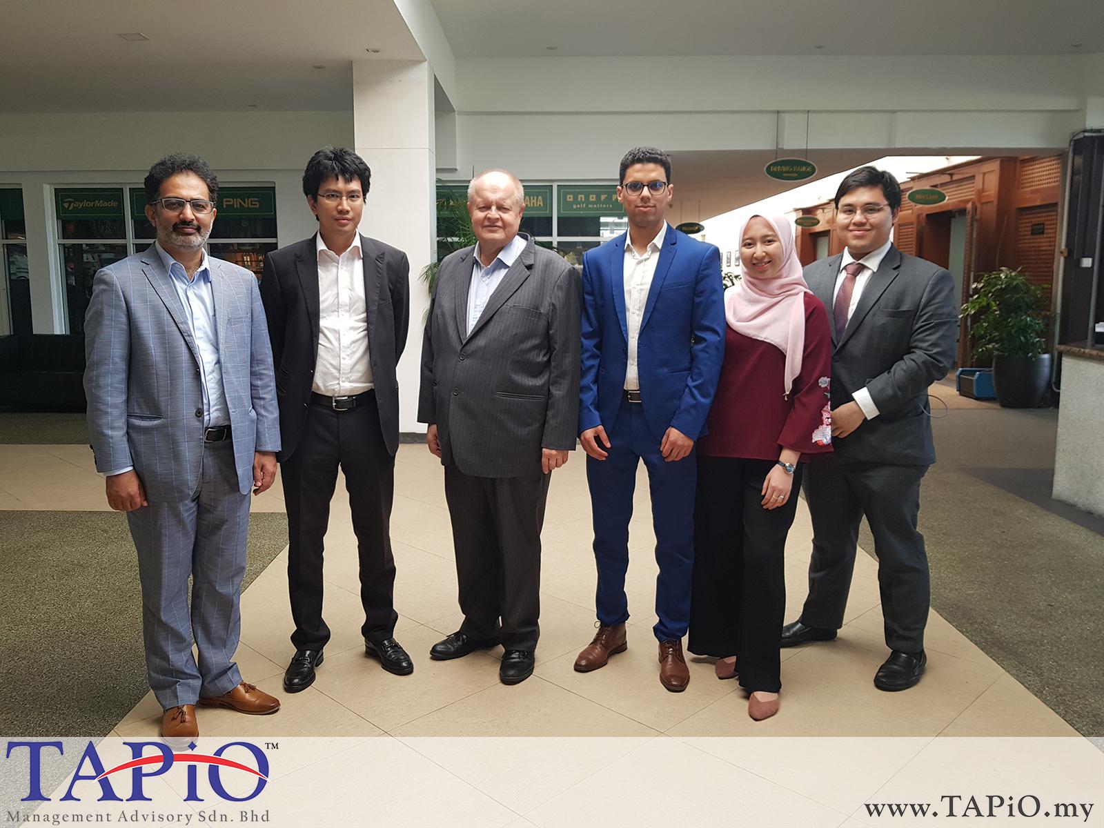 Meeting with Tunku Zain (IDEAS) - 12/03/2019