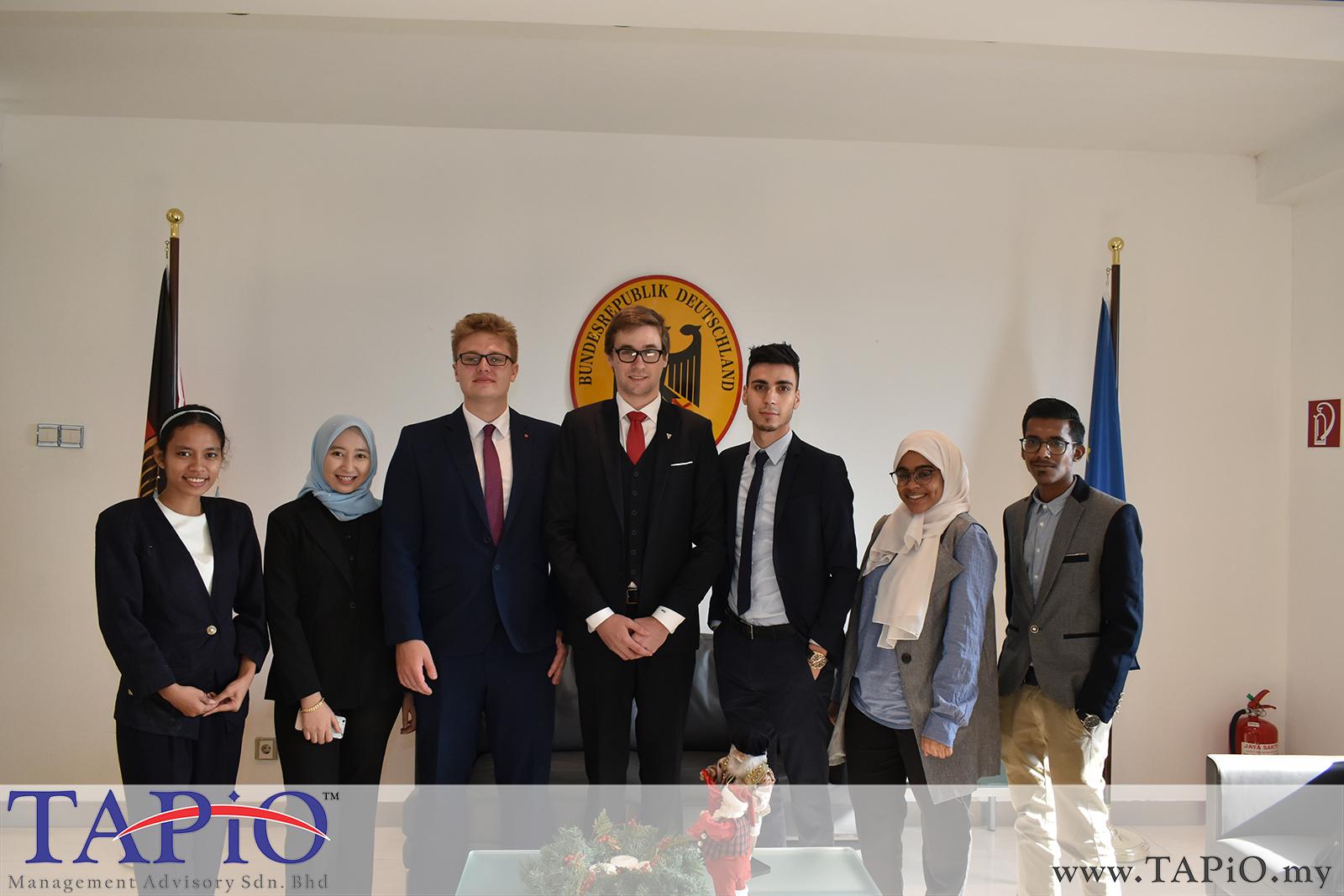 Presentation to German Ambassador - 29/11/2018 (1)