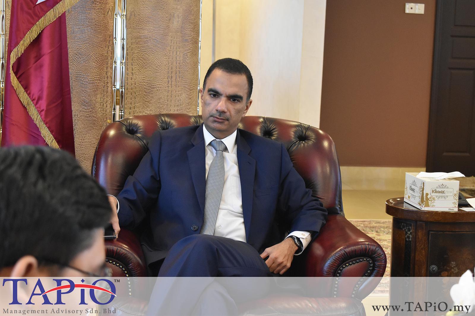 Presentation to the Qatar Ambassador - 01/03/2019 (5)