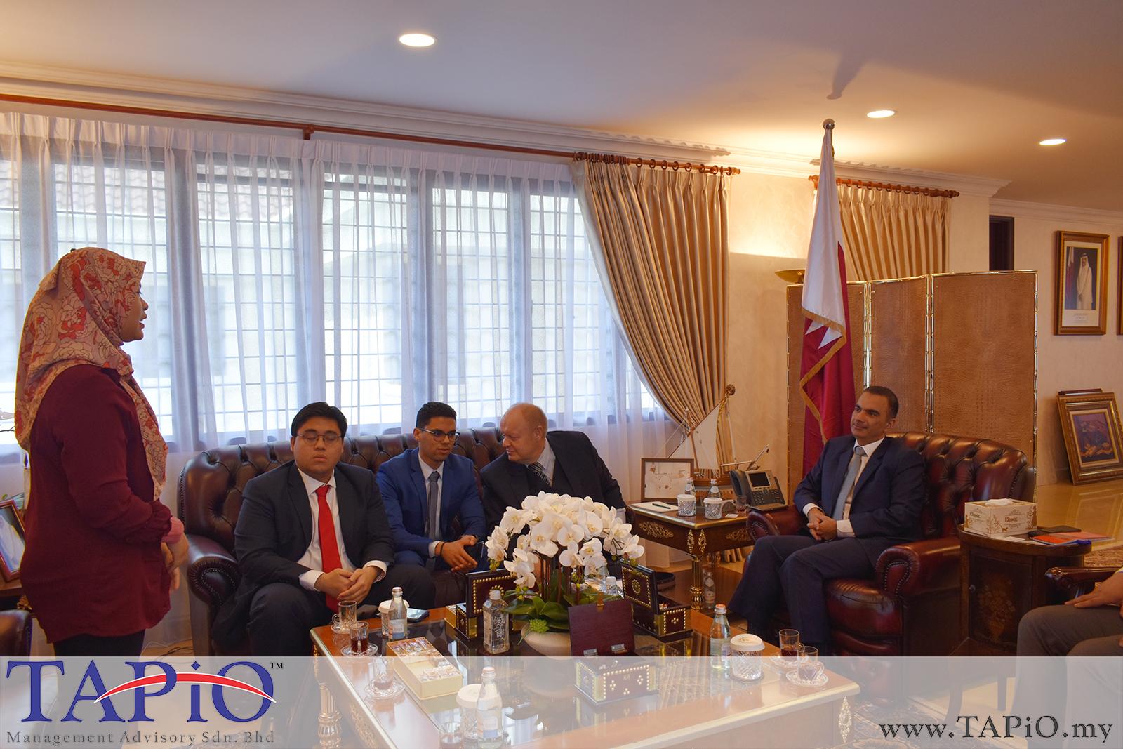Presentation to the Qatar Ambassador - 01/03/2019 (3)