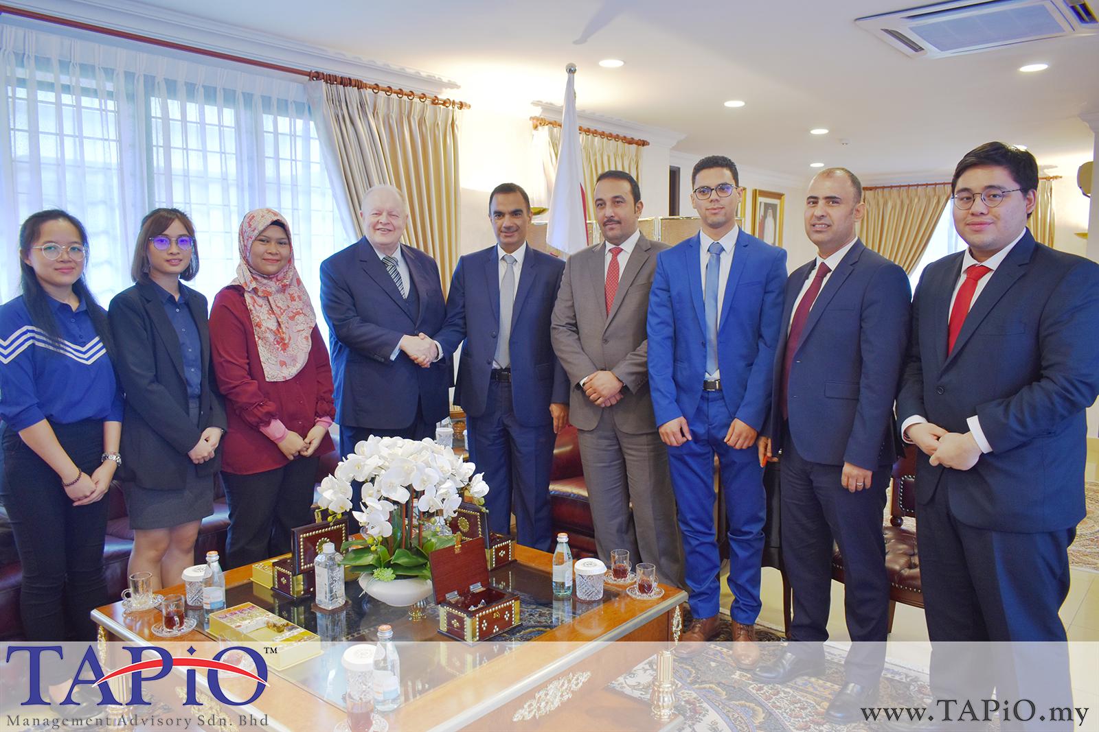 Presentation to the Qatar Ambassador - 01/03/2019 (15)