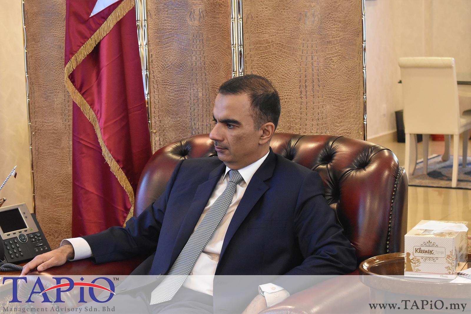 Presentation to the Qatar Ambassador - 01/03/2019 (13)