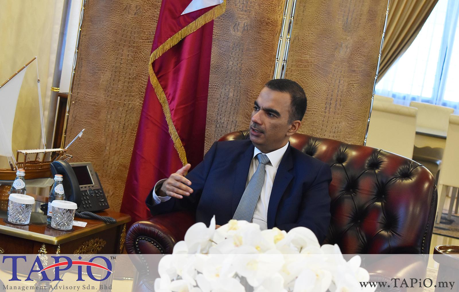 Presentation to the Qatar Ambassador - 01/03/2019 (9)