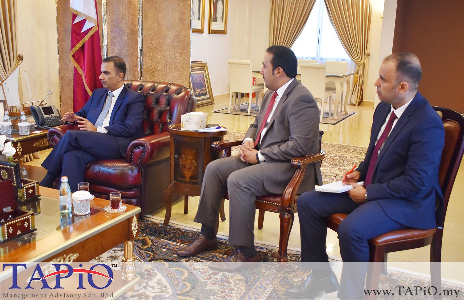 Presentation to the Qatar Ambassador - 01/03/2019 (8)