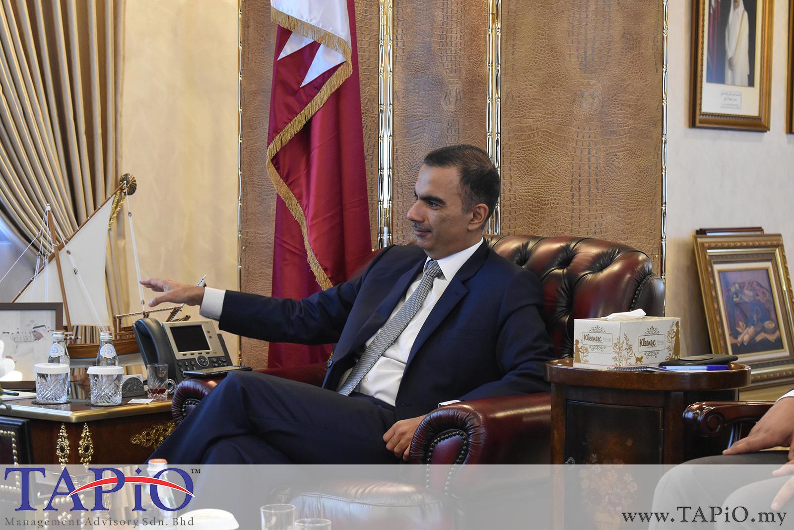 Presentation to the Qatar Ambassador - 01/03/2019 (6)