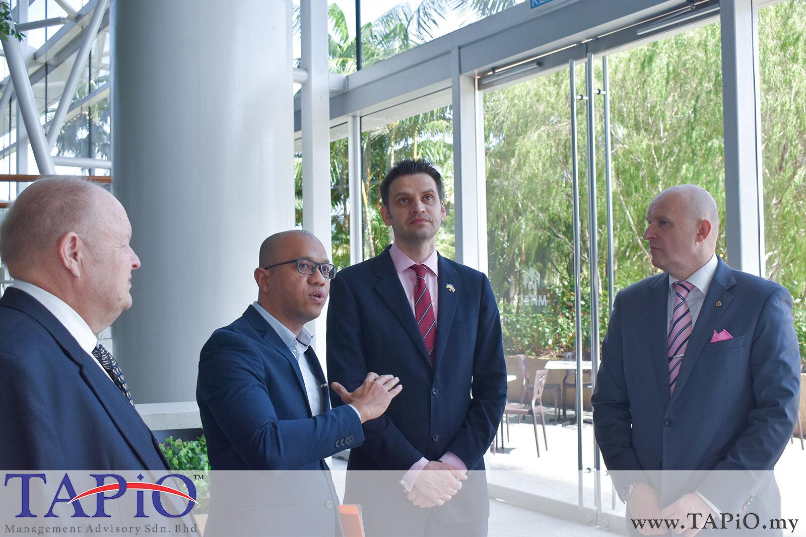 20200227 - Ukraine Ambassador Visit MITEC