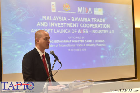 Deputy Minister of International Trade and Industry YB Dr. Ong Kian Ming