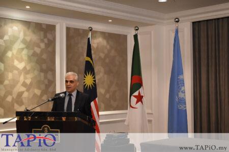 Deputy Rector of IIUM Prof. Dr. Abdelaziz Berghout