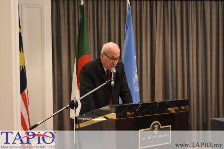 Ambassador of Algeria H.E. Nasreddine Rimouche