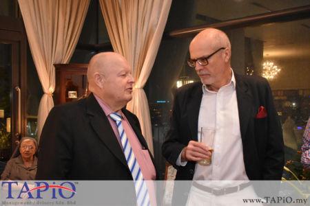 from left to the right: Chairman of TAPiO Management Advisory Mr. Bernhard Schutte, Ambassador of Poland Krzysztof Dębnicki