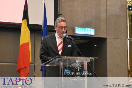 Ambassador of Belgium H.E. Pascal Grégoire