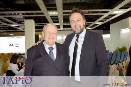 from left to the right: Chairman of TAPiO Management Advisory Mr. Bernhard Schutte, Ambassador of the Republic of Croatia H.E. Kreso Glavac