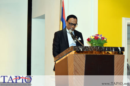 High Commissioner of the Republic of Mauritius His Excellency High Commissioner Dato Dr. Issop Patel