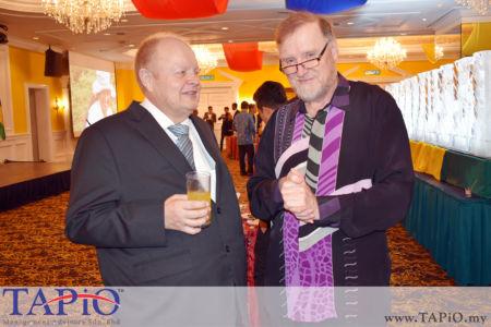 Chairman of TAPiO Management Advisory Mr. Bernhard Schutte with Ambassador of Ireland to Malaysia H.E. Eamon Hickey