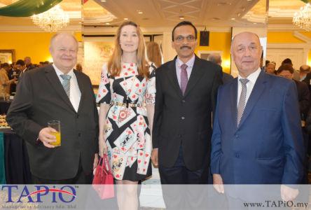 Chairman of TAPiO Management Advisory Mr. Bernhard Schutte Bernama with R. Ravichandran Editor International Desk from Bernama