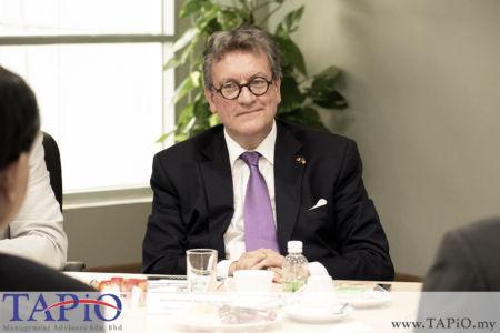Ambassador of Belgium to Malaysia H.E. Pascal H. Grégoire;