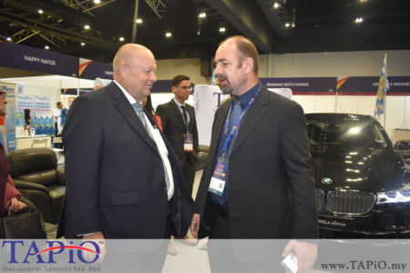 from left to the right: Chairman of TAPiO Management Advisory Mr. Bernhard Schutte, Chairman of MNZCC Mr. Bruce Hope