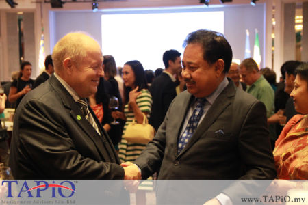 Chairman of TAPiO Management Advisory Mr. Bernhard Schutte with High Commissioner of Bangladesh H.E. Md. Shahidul Islam