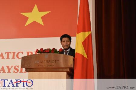 Ambassador of Vietnam H. E. Le Quy Quynh