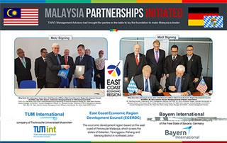 MoU signed TUM Bayern with Malaysia