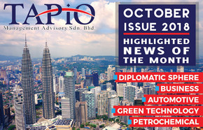 October 2018 Issue TAPiO newsletter with info on TAPiO and Malaysia in general