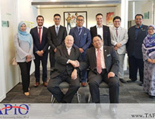 TAPiO Management Advisory discusses Halal Industry in Malaysia with Jabatan Kemajuan Islam Malaysia (JAKIM)