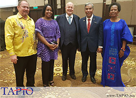 Chairman of TAPiO Management Advisory, Mr. Bernhard Schutte attended the celebration of 25th Anniversary of South African Freedom Day at the InterContinental Hotel Kuala Lumpur.