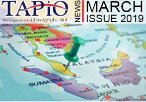 TAPiO March Newsletter with interesting news about Malaysia that happen in March 2019.