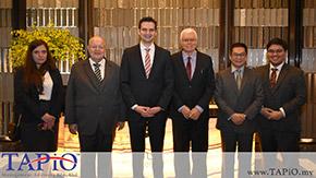 Meeting with the Ukrainian Ambassador to Malaysia and the Chief Executive of NCIA