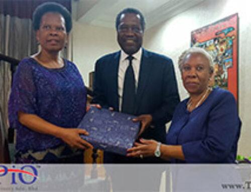 Farewell Luncheon for Ambassador of Zimbabwe