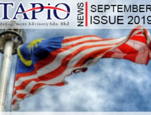 TAPiO Newsletter September 2019 – Malaysia Report