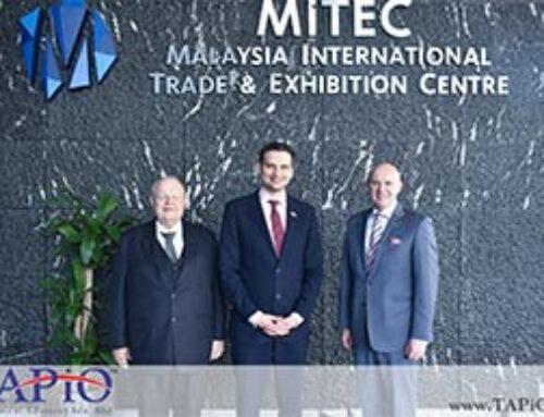 HE Olexander Nechytaylo Visits MITEC
