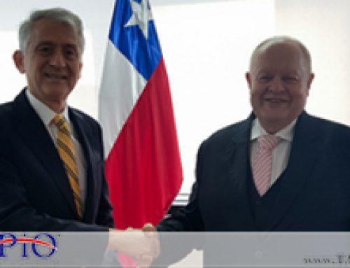 Meeting with His Excellency Rodrigo Pérez Manriquez